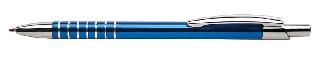 Metalowy długopis reklamowy AP9010-04 - niebieski