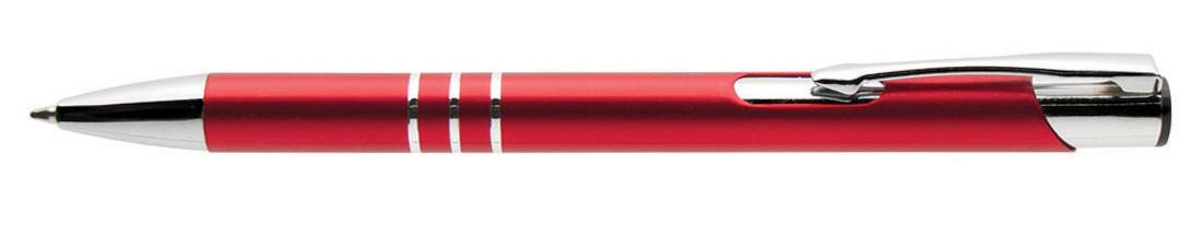 Plastikowy długopis reklamowy AP9028-05 - czerwony