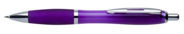 Plastikowy długopis reklamowy AP1001c-21 - fioletowy