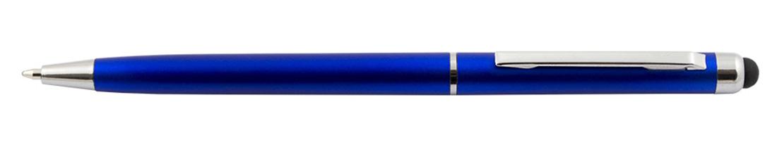 Plastikowy długopis reklamowy AP7010-04 - niebieski