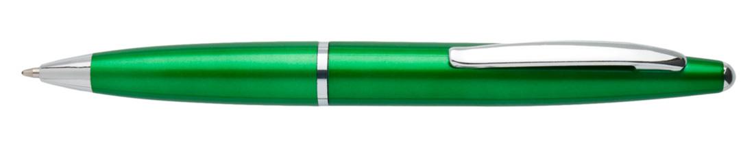 Plastikowy długopis reklamowy AP2188m-09 - zielony
