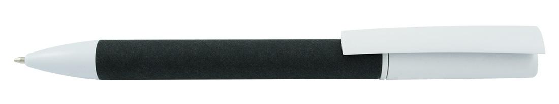 Papierowy długopis reklamowy AP5060-03 - czarny