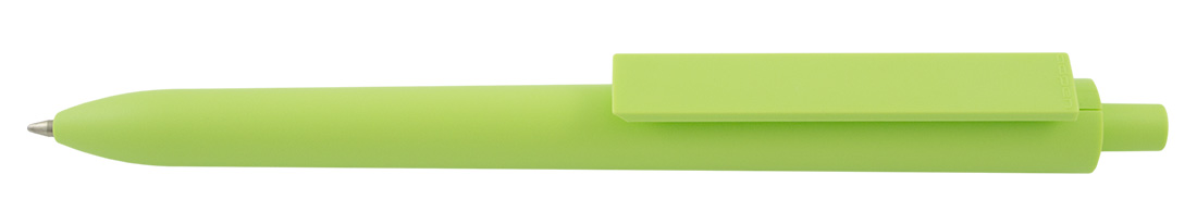 Plastikowy długopis reklamowy El Primero Solid-17 - zielony jasny