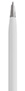 Biały, metalowy długopis reklamowy AP9030-06