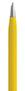 Żółty, metalowy długopis reklamowy AP9030-08