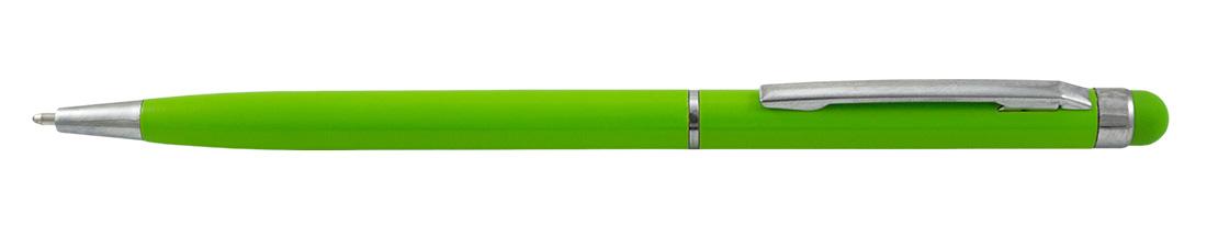 Metalowy długopis reklamowy AP9030-17 - jasnozielony