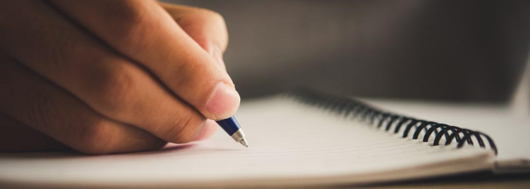 Przerywający długopis